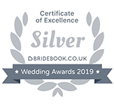 Bridebook wedding awards 2019