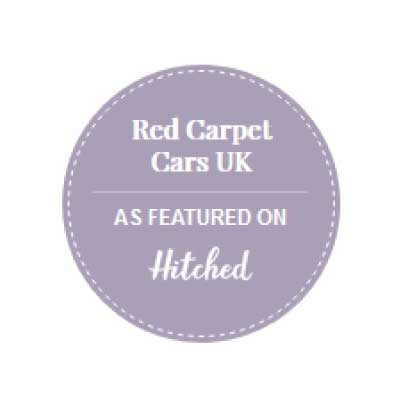 Red Carpet Cars | Luxury Wedding Cars | As Featured in Festival Weddings logo