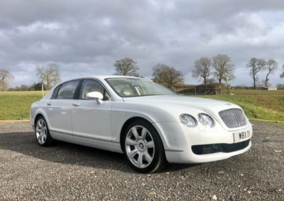 Red Carpet Cars | Luxury Wedding Cars | Bentley side view