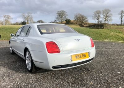 Red Carpet Cars | Luxury Wedding Cars | Bentley rear view